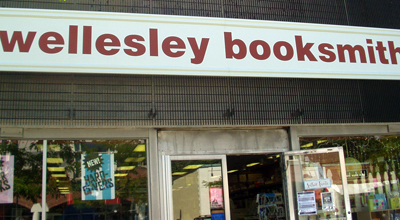 Wellesley Booksmith sign